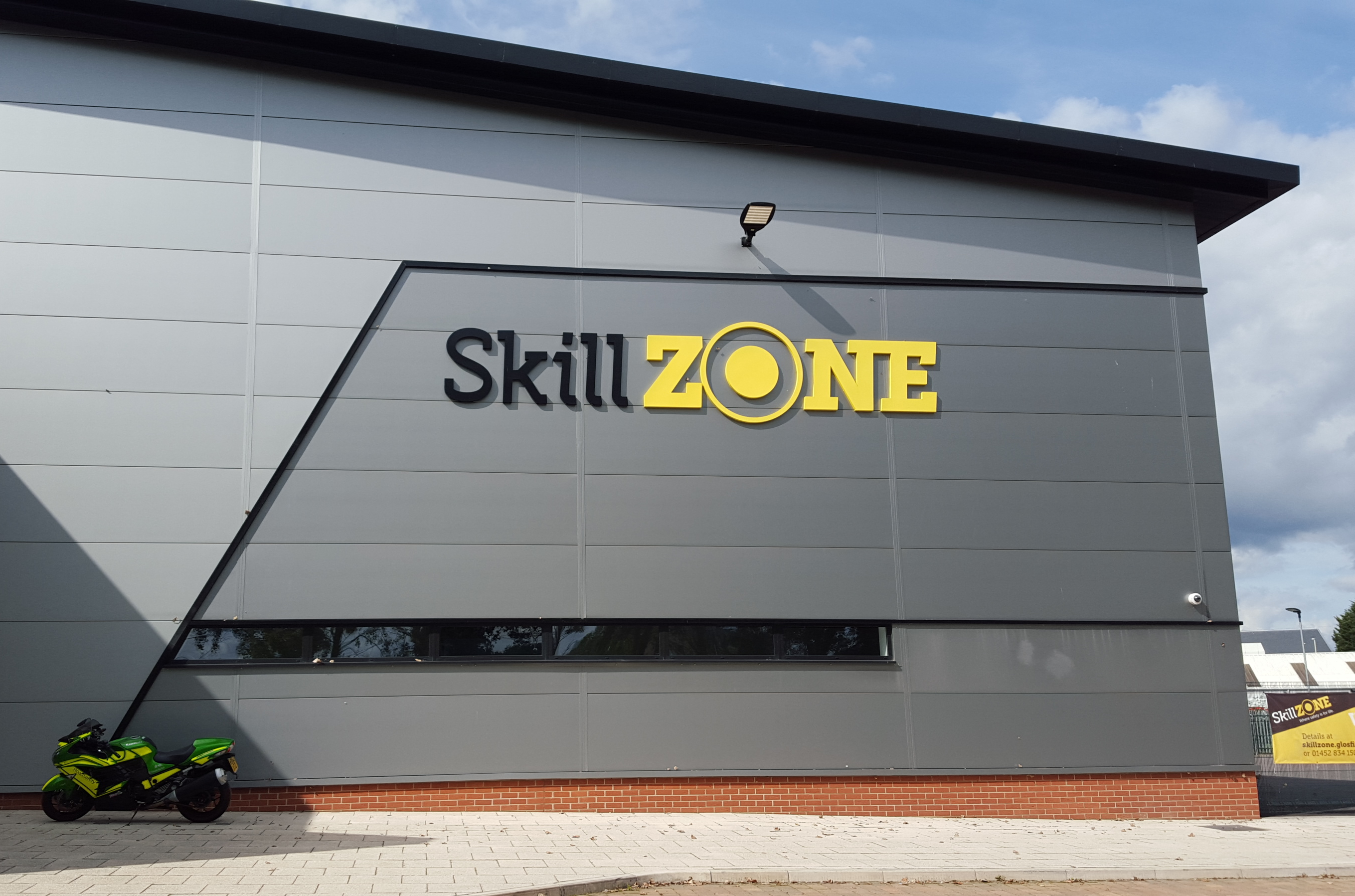 Bikers take part in safety workshops at SkillZONE